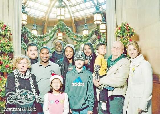 Glen Warner family portrait 2012